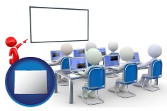 co a computer training classroom