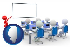 il a computer training classroom