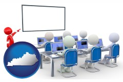 ky a computer training classroom
