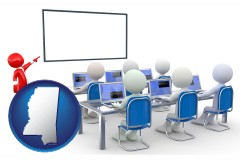 ms a computer training classroom