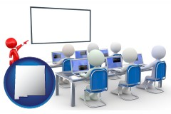 nm a computer training classroom