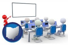 oh a computer training classroom