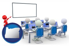 or a computer training classroom