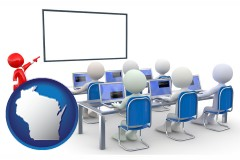 wi a computer training classroom
