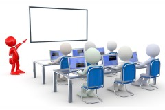 a computer training classroom
